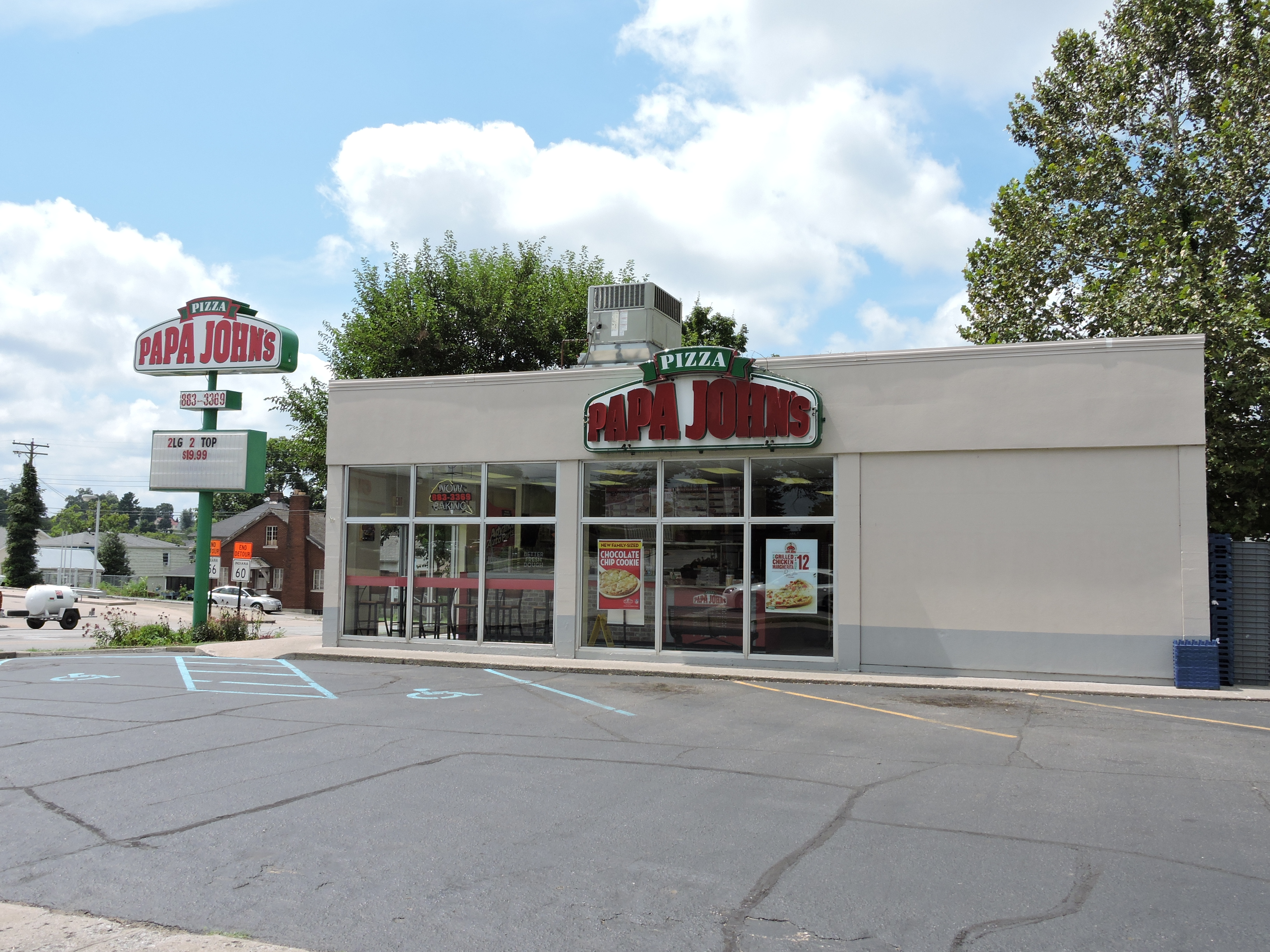 Papa John's- Charlestown, Indiana- investment property-crowdfunding real estate