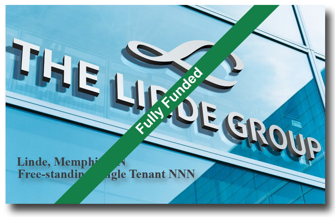 Linde Gas | Crowdfunding Real Estate Investment Fully Funded