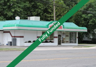 Papa John's | Crowdfunding Real Estate in N. Vernon-Fully Funded